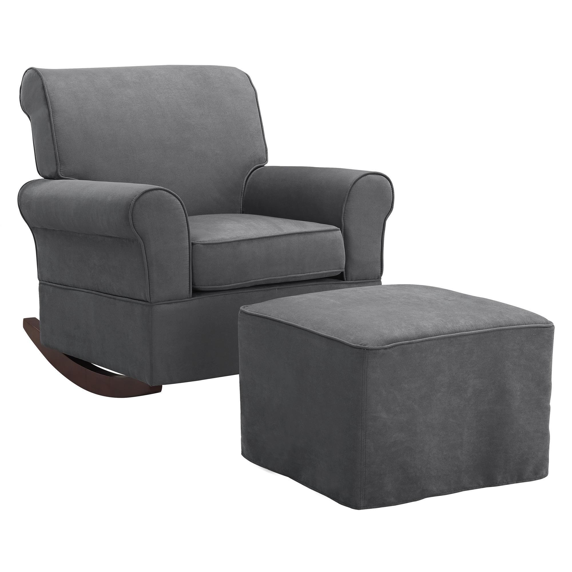 baby relax the mackenzie microfiber plush nursery rocker. Black Bedroom Furniture Sets. Home Design Ideas
