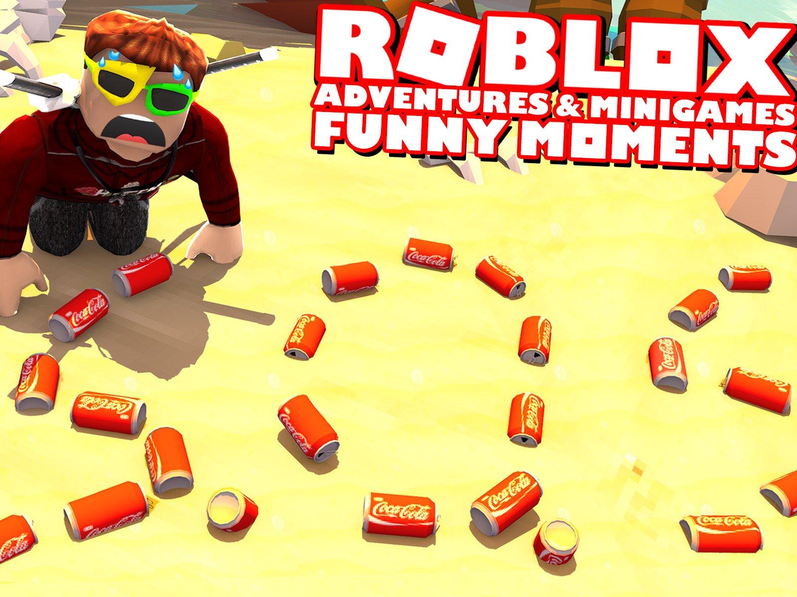 Clip: Roblox Adventures & Minigames (Funny Moments) - Season 2