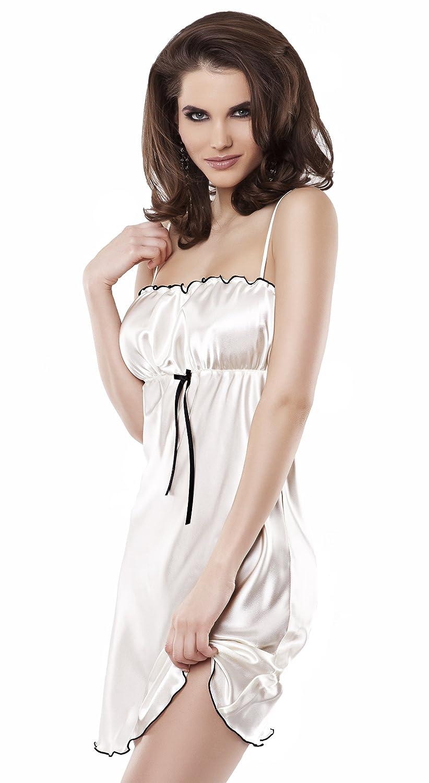 Lady-Mode Negligee aus Satin Elwira (S – 2XL) online bestellen