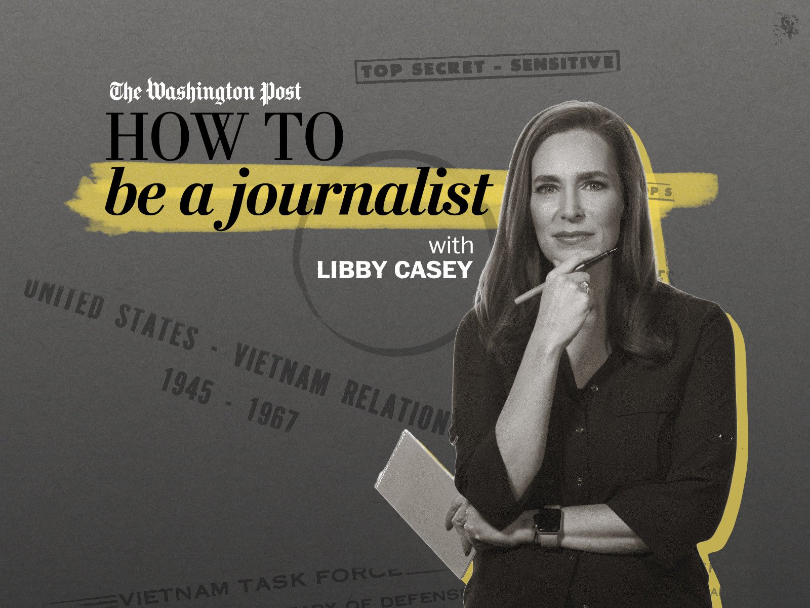 How to be a journalist on Amazon Prime Instant Video UK