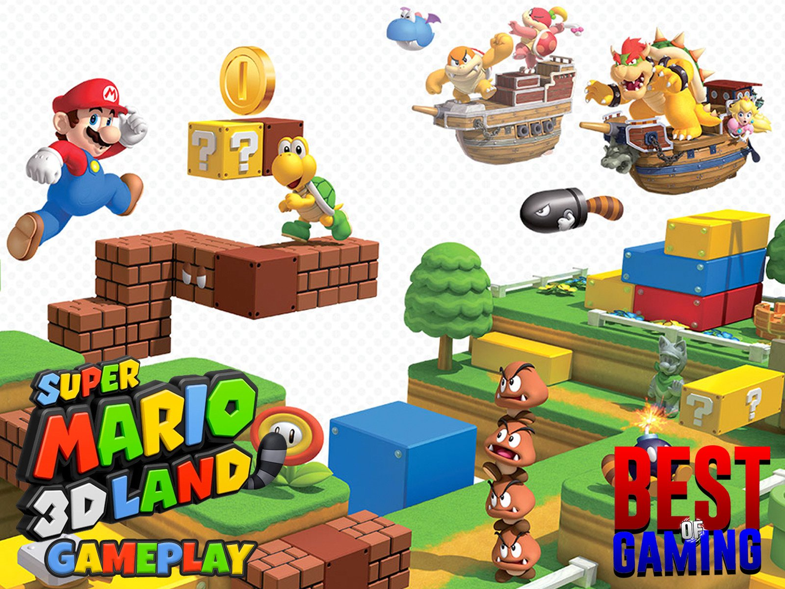 Clip: Super Mario 3D Land Gameplay - Season 1