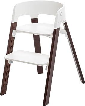stokke chaise haute haute steps noyer b b s pu riculture z372. Black Bedroom Furniture Sets. Home Design Ideas