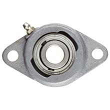 Boston Gear ST5/8 Mounted Bearing, Flange, Standard Duty, 2 Bolts, 0.625 Bore