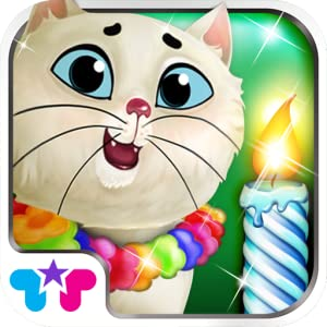 Kitty Cat Birthday Surprise: Care, Dress Up & Play! by TabTale LTD