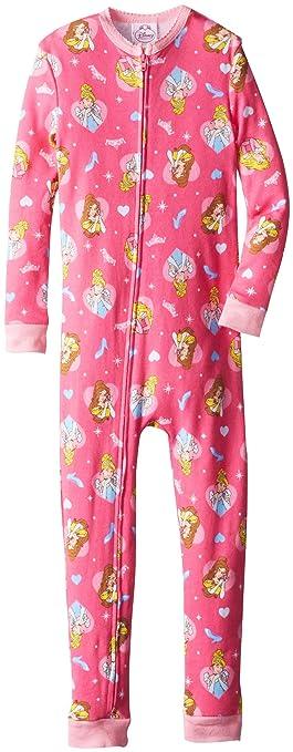 Komar Little Girls'  Cinderella Footless Blanket Sleeper, Blue, 2T