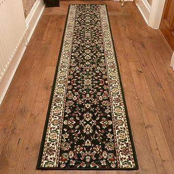carpet runners long long tapis de couloir et d 39 escalier d 39 escalier vert sombre. Black Bedroom Furniture Sets. Home Design Ideas