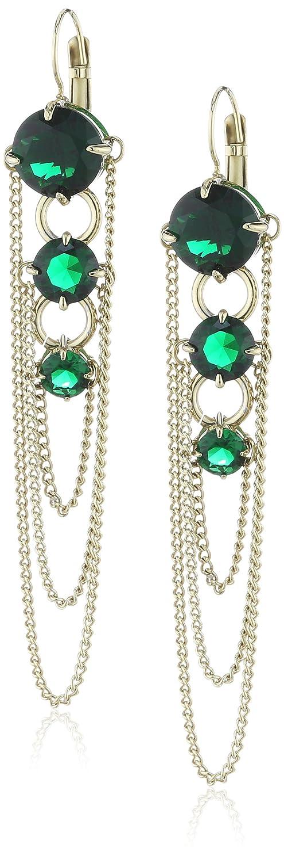Dyrberg/Kern Damen-Ohrhänger Vergoldetes Metall Melance sg green 334568 bestellen