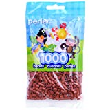 Perler Beads Fuse Beads for Crafts, 1000pcs, Rust Red (Color: Rust Red)
