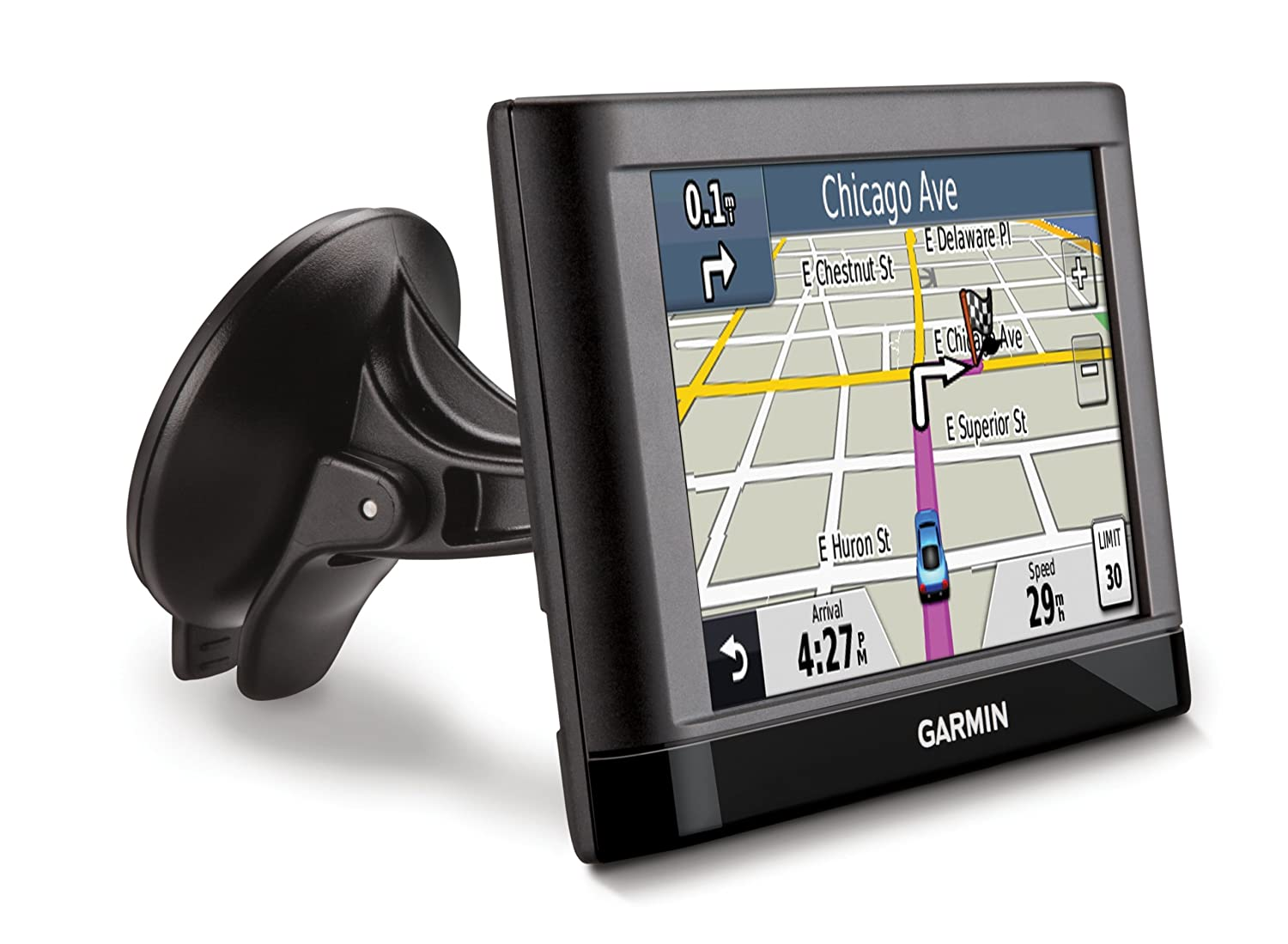 Garmin nüvi 44 4.3-Inch Portable Vehicle GPS (US & Canada)