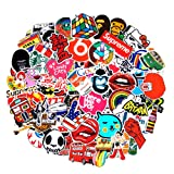 200Pack SuprCool Stickers Set Random Sticker Decals for Water Bottle Laptop Cellphone Skateboard Bicycle Motorcycle Car Bumper Luggage Travel Case. Etc (200pcs) (Color: Multicolor, Tamaño: 200pcs)