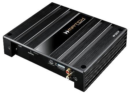 MATCH amplificateur 5 canaux pP52 dSP 4 x 50 w rMS