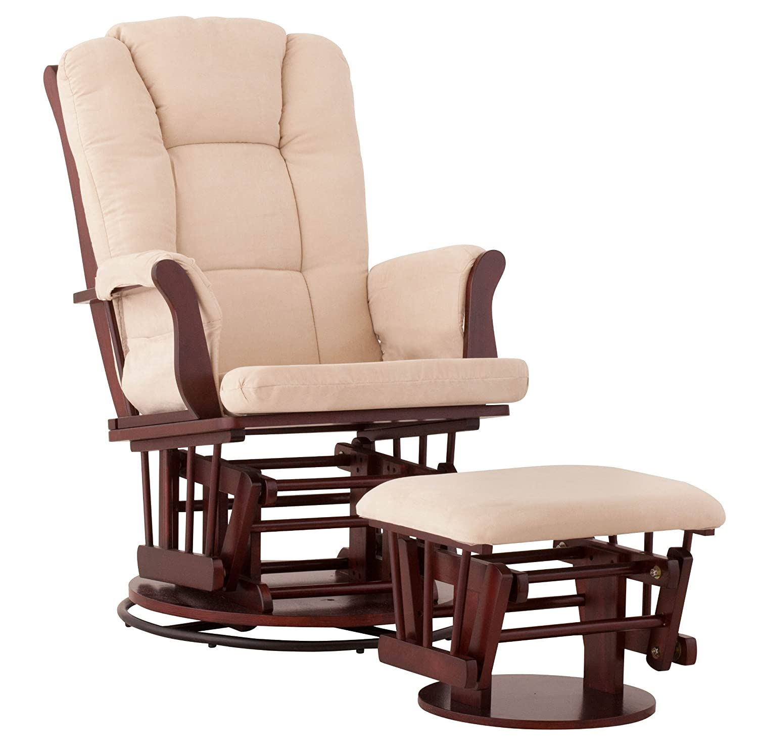 ... Craft Tuscany Glider Rocking Chair And Ottoman  Search Results