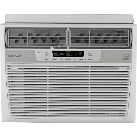 Frigidaire Energy Star 12,000 BTU 115V Window-Mounted Compact Air Conditioner w/ Temperature Sensing Remote Control