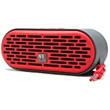 MB Quart QUBThree Dual Driver Wireless Bluetooth Speaker (Red)