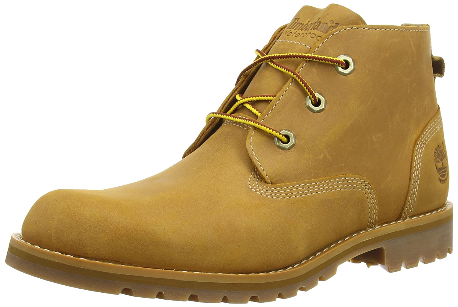 Timberland Mens Wheat Larchmont Waterproof Chukka Boots-UK ...