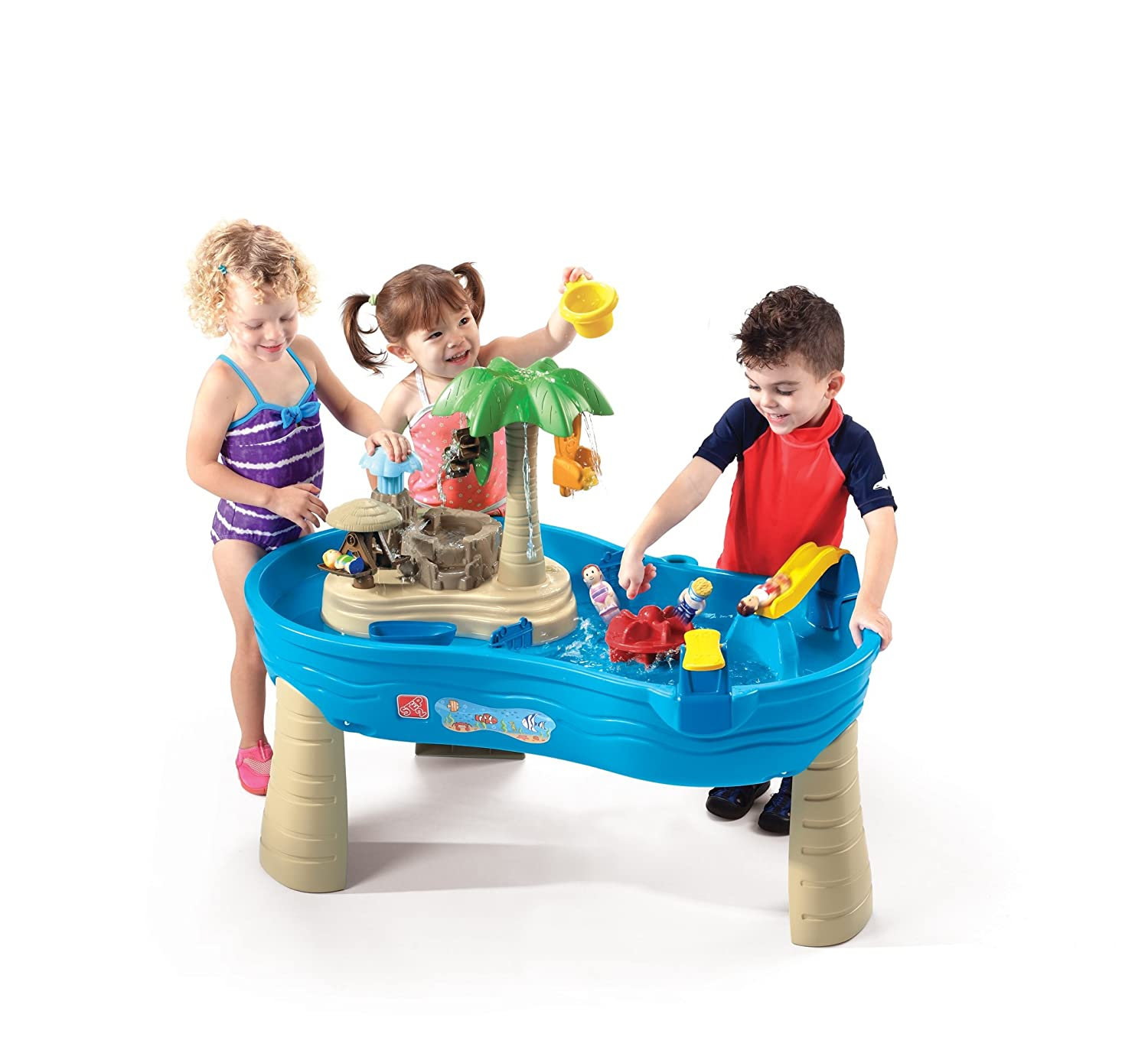 Best Water Toys For Kids : Step tropical island resort review
