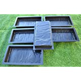 12PIECE DESIGN CONCRETE MOLDS for PAVING BRICK SLAB patio garden path MOULD#S19