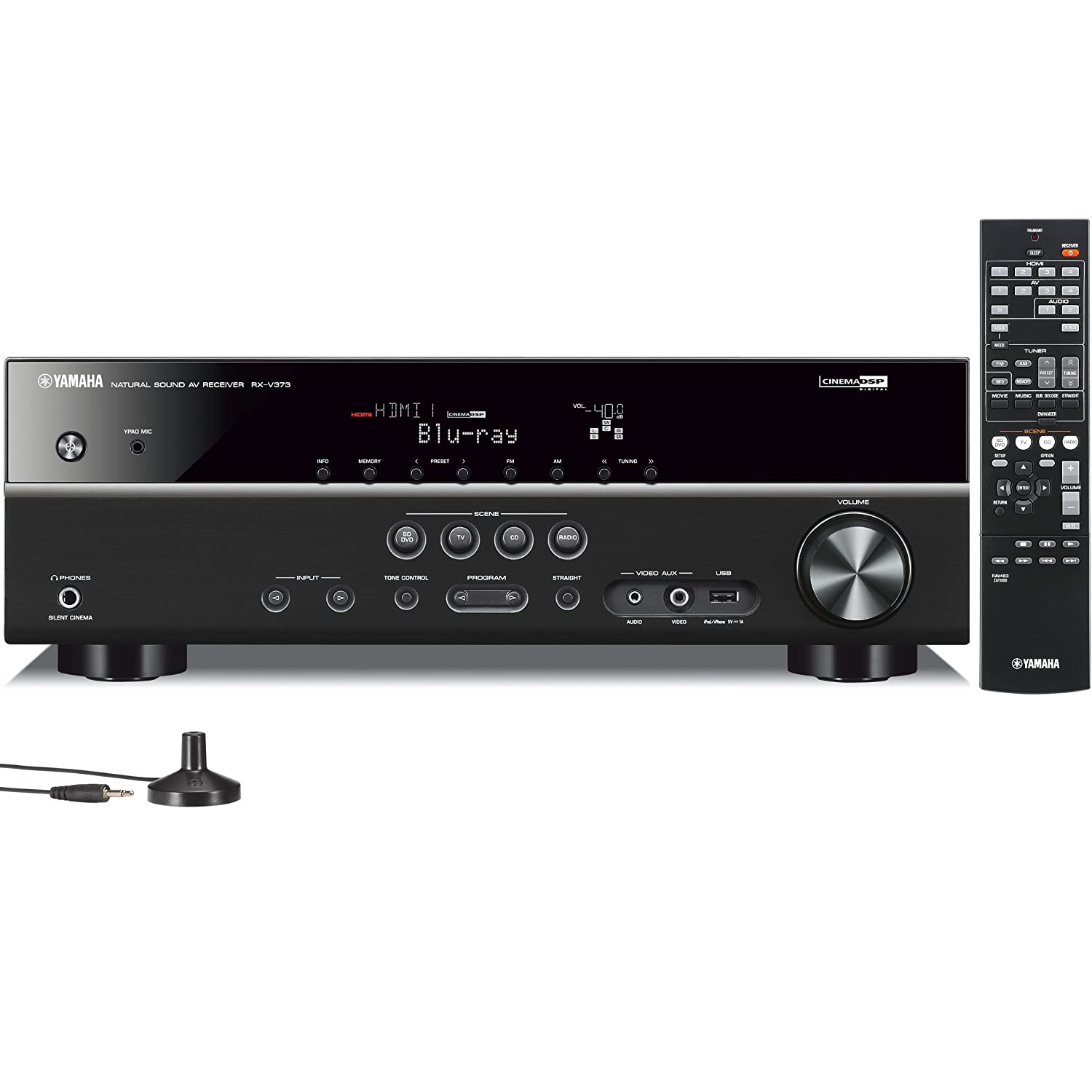 Yamaha RX-V373 5.1-Channel AV Receiver $176.95