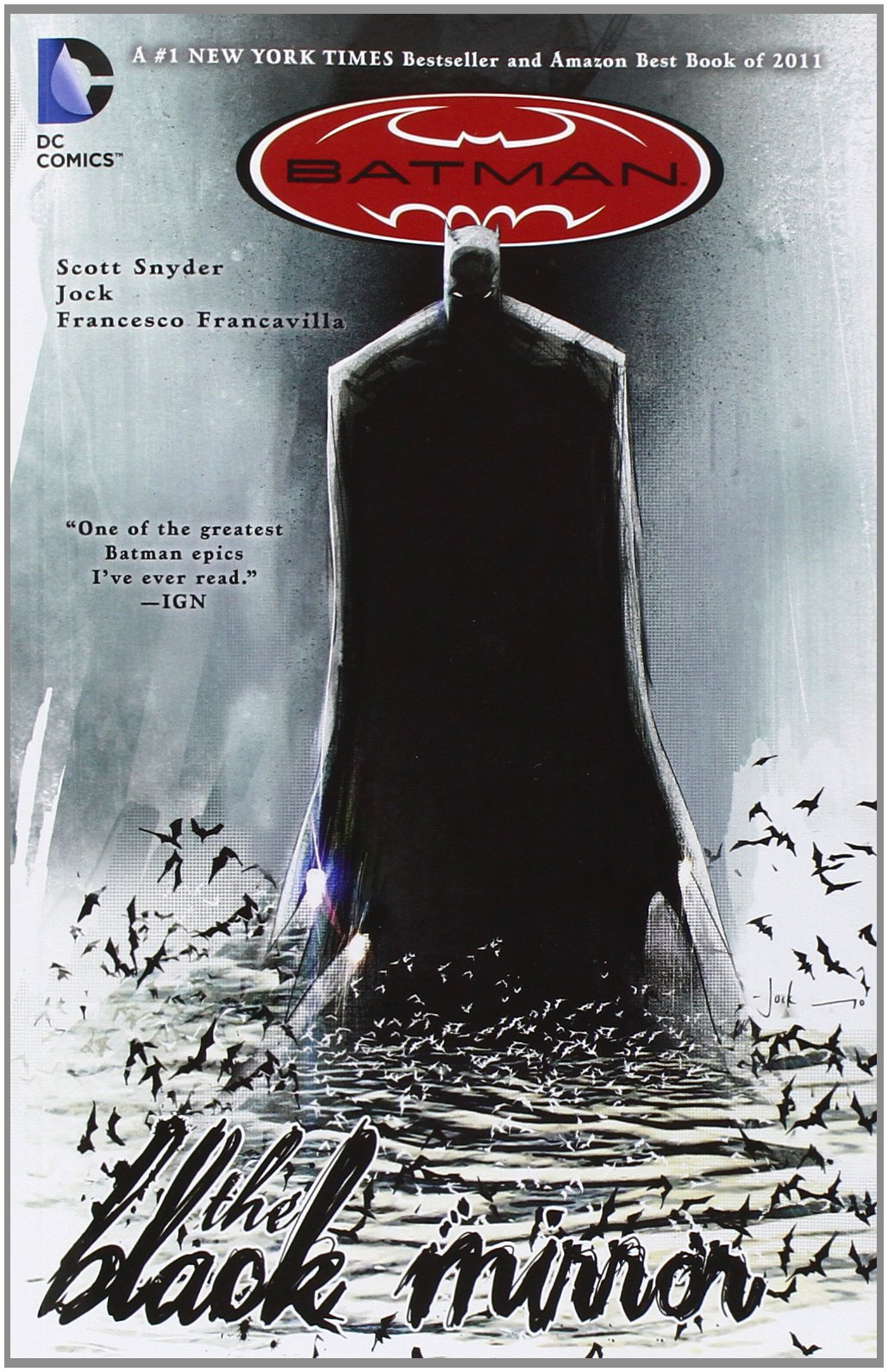 DC Comic's Batman - The Black Mirror book cover