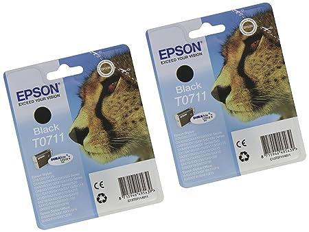 Epson 2 Cartouches d'encre avec Puce Noir