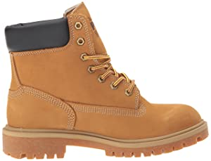 Timberland PRO Women's Direct Attach 6 Steel Toe Waterproof Insulated Industrial and Construction Shoe, Wheat Nubuck Leather, 9 M US (Color: Wheat Nubuck Leather, Tamaño: 9 M US)