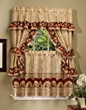 country style curtains for the kitchen