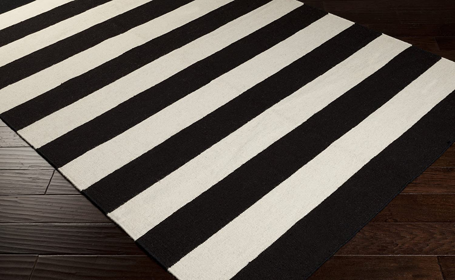 black and white striped rug abstract contemporary red black white gray