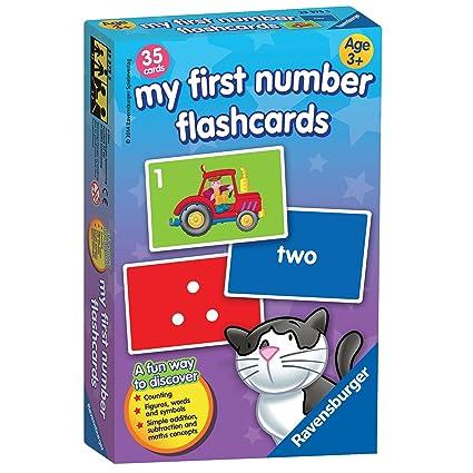 My First chiffres Flash Jeu de cartes–Jeu de Société–Ravensburger –