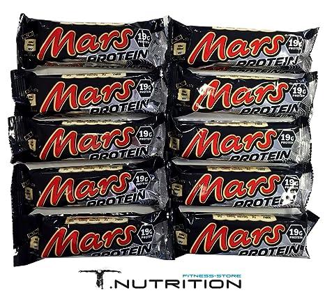 MARS PROTEIN RIEGEL (10 Stuck)