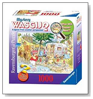 Camping Commotion 1000 Pieces Puzzle