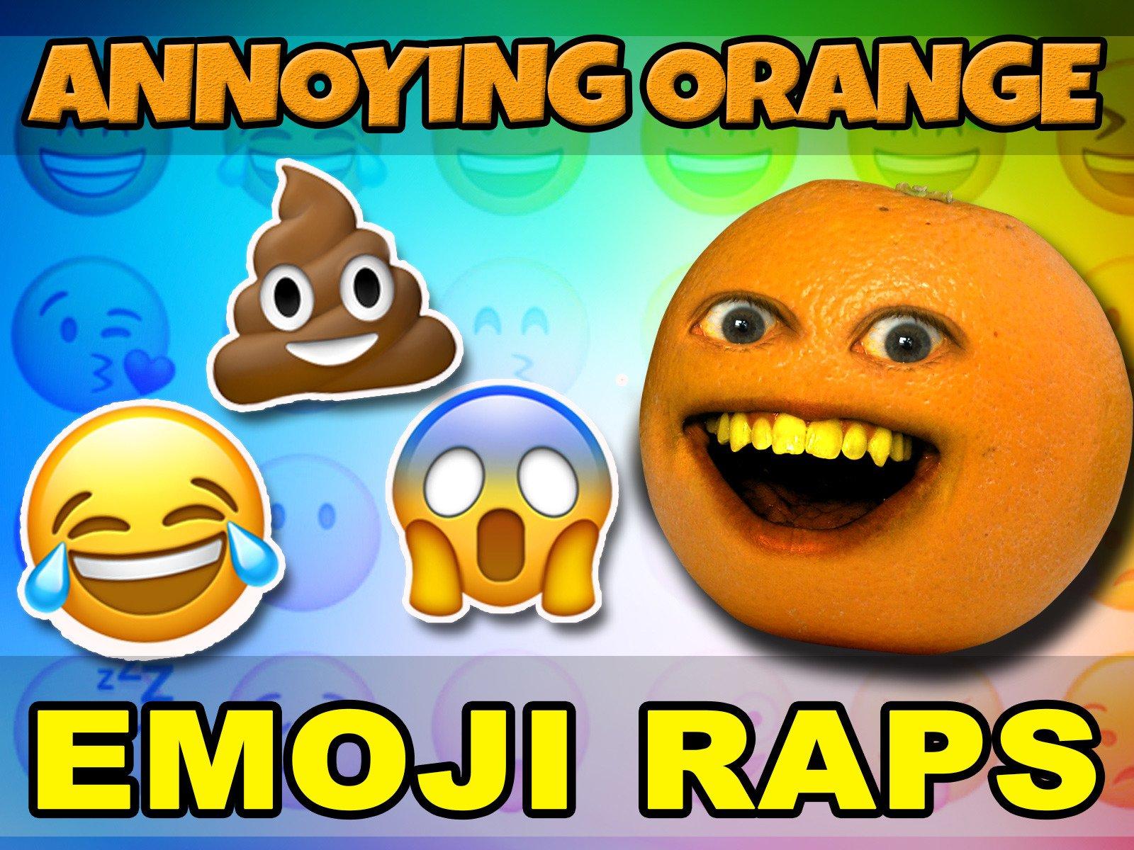 Annoying Orange - Emoji Raps! - Season 1