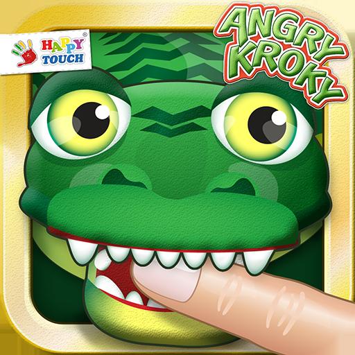 Angry Kroky - Il coccodrillo è arrabbiato, fuori di sé! (da Happy-Touch - Giochi per bambini)