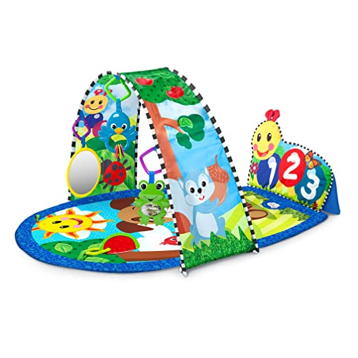 Baby Einstein Caterpillar Kickin Tunes Activity Gym