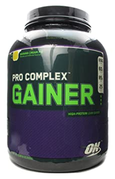 Optimum Nutrition Pro Complex Gainer Banana Cream Pie — 5.08 lbs