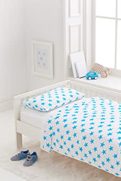 aden + anais Classic Toddler Bed in a Bag, Fluro Blue