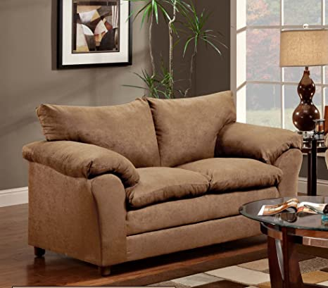 Chelsea Home Furniture Gail Loveseat, Victory Lane Taupe