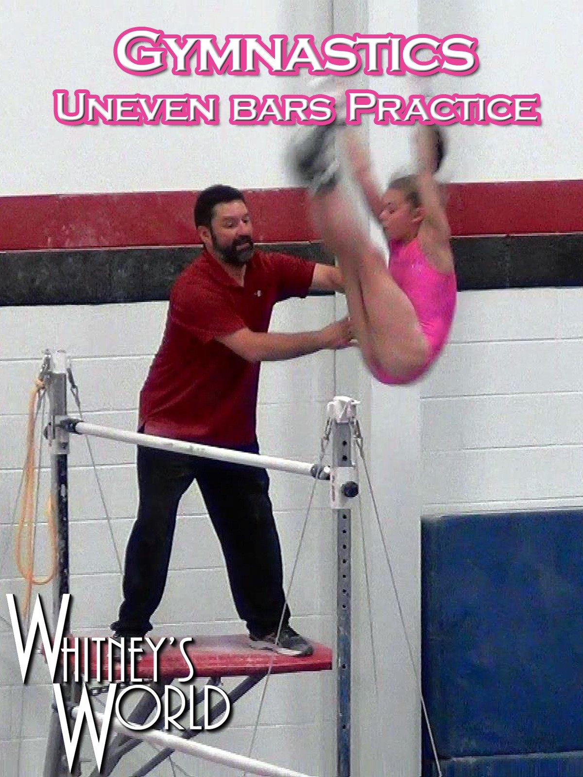 Gymnastics Uneven Bars Practice on Amazon Prime Video UK