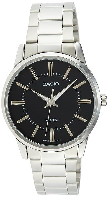 Casio Enticer Analog Black Dial Men\