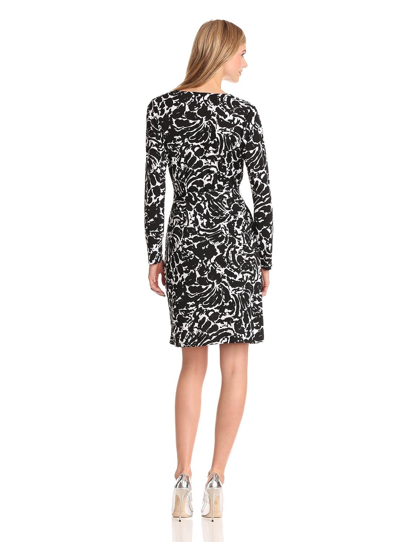 Mock-Wrap Dress
