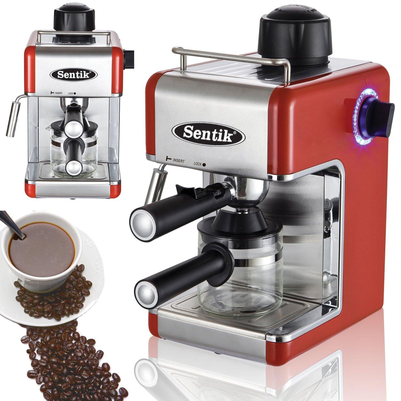 Espresso Makers For Home ~ Sentik professional espresso cappuccino coffee maker