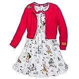 Disney Animators' Collection Dress Set for Girls Size 5/6 Multi (Color: Multi, Tamaño: 5 / 6)