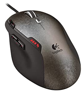 Logitech G500 Wired Programmable Gaming Laser Mouse $39.99