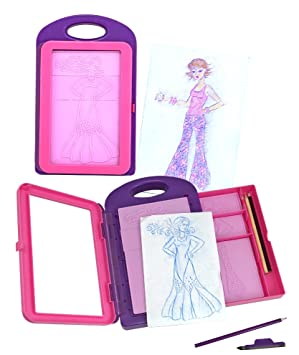 How To Do Barbie Design Fashion Plates Melissa amp Doug Fashion Design