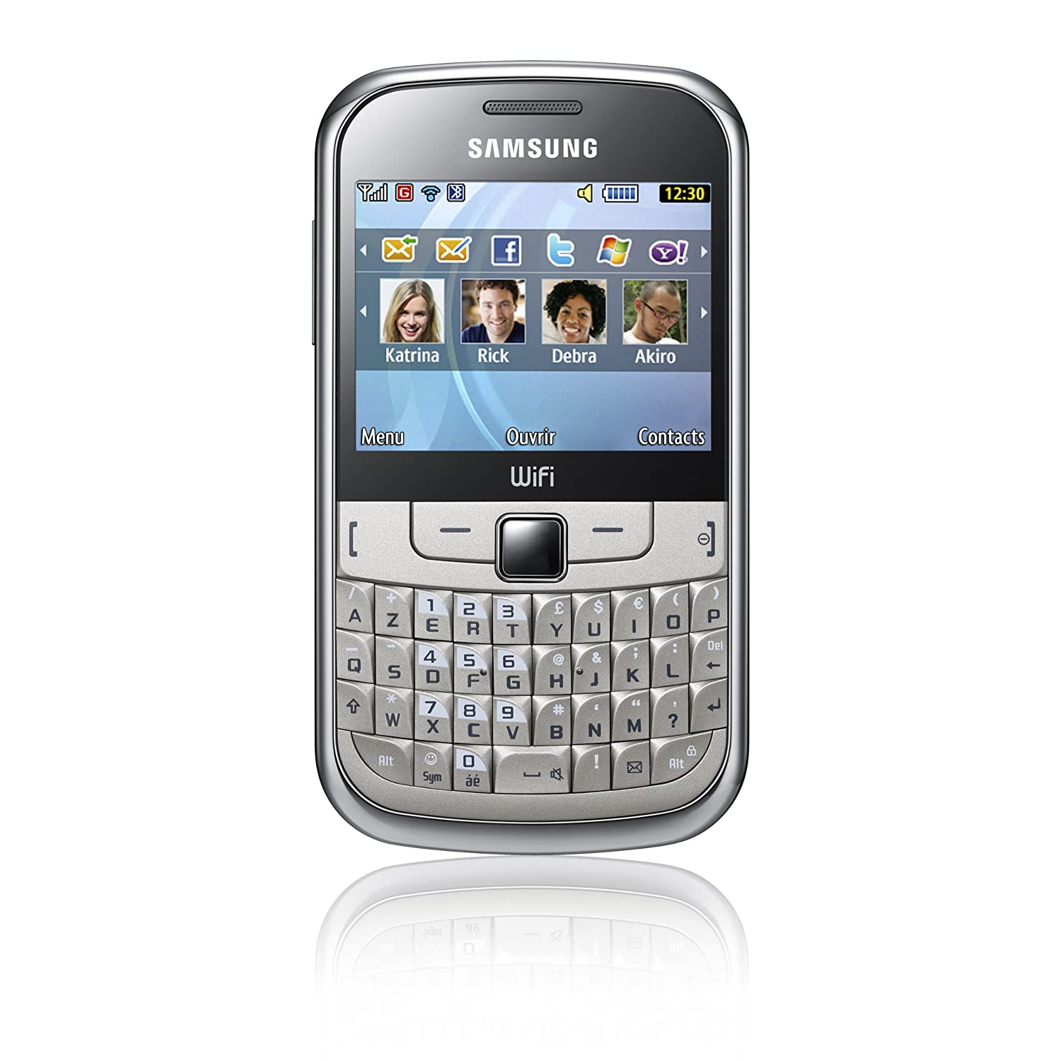 Comparer SAMSUNG CHAT 335 BLANC