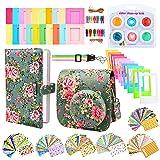 Sunmns Camera Accessories Bundle Kit Set for Fujifilm Instax Mini 9, Accessory Include Case, Album, Film Stickers, Desk Frames, Hanging Frame, Filters, Strap (Retro Floral) (Color: Retro Floral)