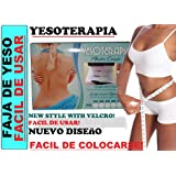 Faja de yeso Reductora Plaster Corset Yesoterapia 100% Original (MEDIUM) (Color: Medium Cinturas 72 Cm a 85cm Sizes 06 a 08 Facil De Usar, Tamaño: MEDIUM)