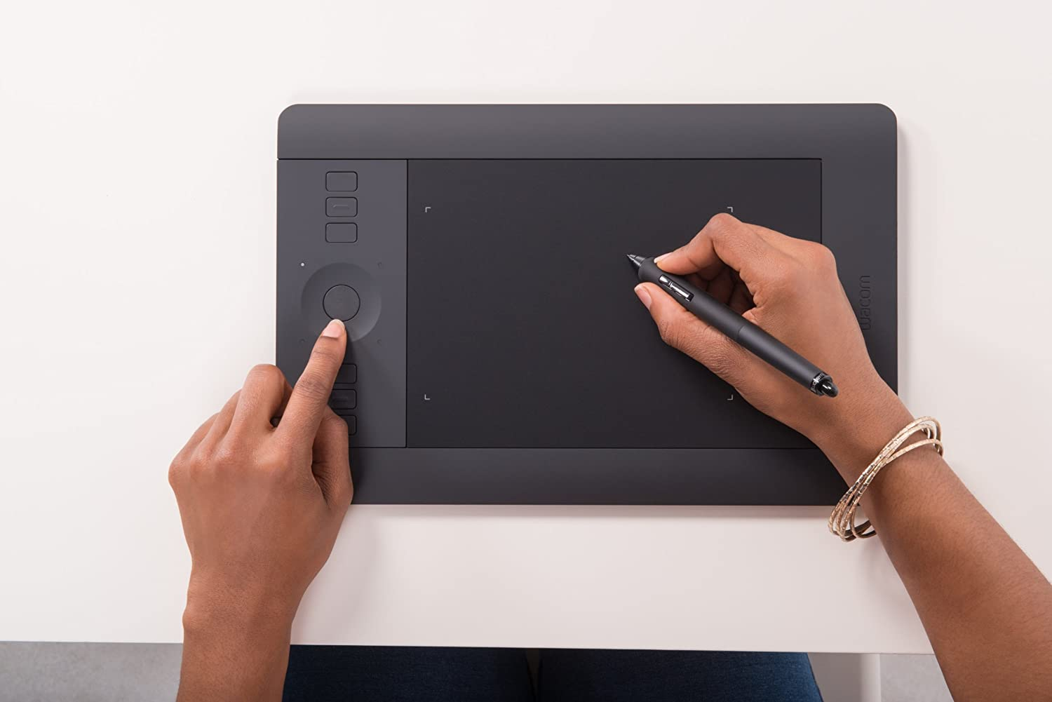 Wacom Intuos Pro Pen and Touch Small Tablet (PTH451)