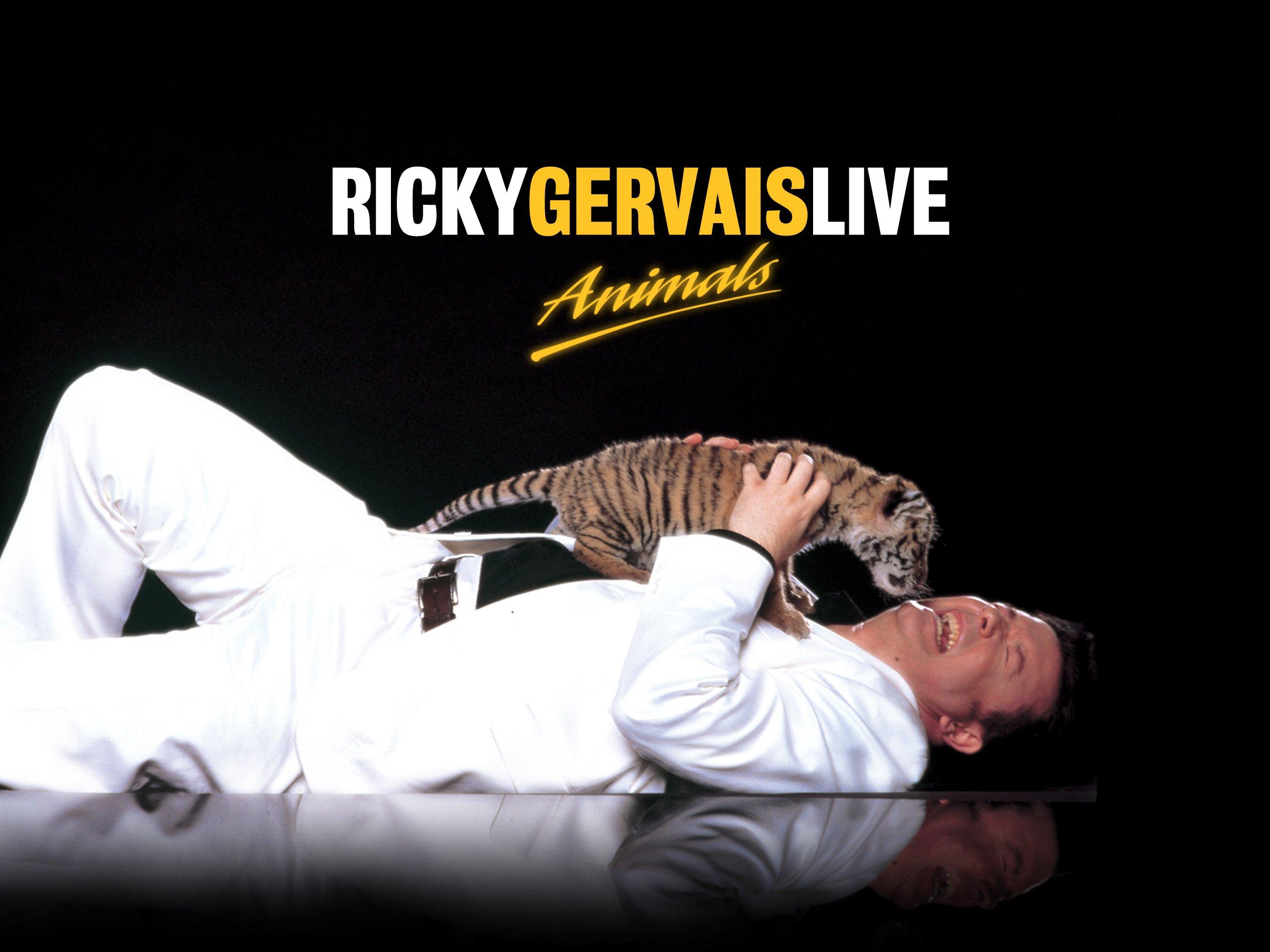 Ricky Gervais Live on Amazon Prime Video UK