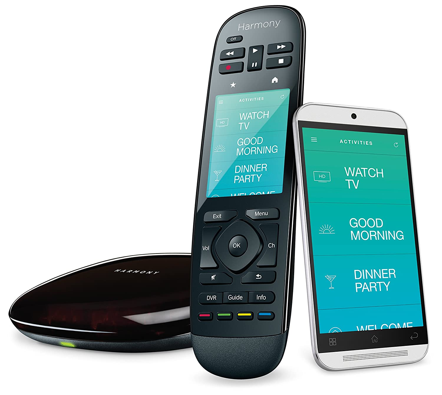 Logitech 915-000237 Harmony Ultimate Home Touch Screen Remote for 15 Home Entertainment and Automation Devices