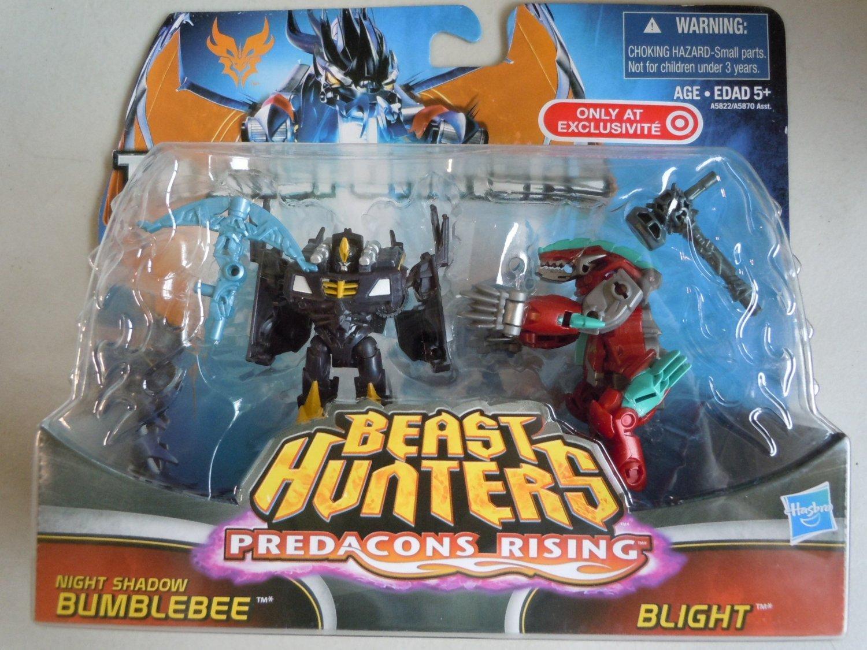 Transformers Beast Hunters 2er Set Night Shadow Bumblebee und Blight günstig online kaufen